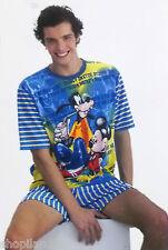 PIJAMA DISNEY HOMBRE Mickey Mouse Goofy MASSANA Pigiama Pyjamas Pajama T./SIZE M