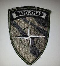 Écusson de manche basse visibilité NATO - OTAN (état NEUF)