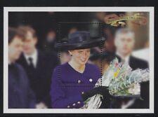 Burkina Faso 1998 Princess Diana S/S set Sc# 1094-95 NH