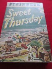 JOHN STEINBECK - SWEET THURSDAY - 1954 1ST ED HB WILLIAM HEINEMANN LTD