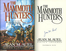 Jean M. Auel SIGNED AUTOGRAPHED The Mammoth Hunters HC 1st Ed Clan of Cave Bear