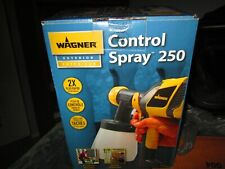 Wagner Control Spray 250 Exterior Paint Sprayer Stainer Brand New Sealed Box