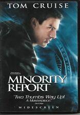 Minority Report (Dvd, 2002, 2-Disc Set, Widescreen) Tom Cruise stars!