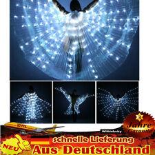 Bauchtanz LED Isis Flügel Licht Weiß Flügel Lichtshow 3 Lamp Licht Einstellbar