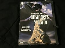 Alfred Hitchcock's Strangers On A Train Dvd New Sealed Rare Oop 2 Versions!