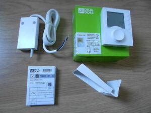 thermostat programmable radio TYBOX 137 ref: 6053007  DELTA DORE neuf !!