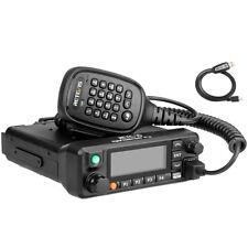 Retevis RT90 GPS Ham Radio Walkie Talkie Funkgerät VHF/UHF 50W 3000 Kanäle + USB