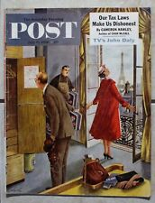 Saturday Evening Post July 14 1956; High Society Poster; Roy Eaton; Big Top