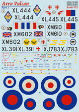Print Scale 72-256 - 1/72 Avro Vulcan, Part 2 Airplane Accessories, wet decal