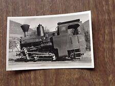 RPPC Vintage Photo Zahnrad-Locomotive Schneebergbahn Puchberg Hochschneeberg