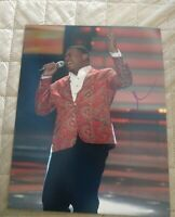 CURTIS FINCH SIGNED 8X10 PHOTO AMERICAN IDOL W/COA+PROOF RARE WOW
