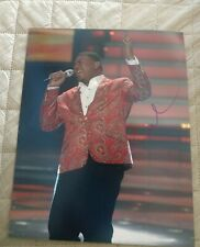 Curtis Finch Signed 8X10 Photo American Idol W/Coa+Proof Rare Wow