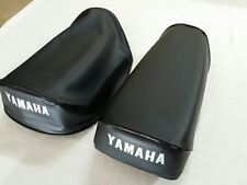 YAMAHA YZ80B YZ80C YZ80D 1975 TO 1977 MODEL REPLACEMENT SEAT COVER BLACK(Y80-n8)