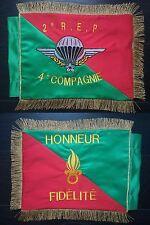 FANION souvenir brodé 2ème REP - Légion étrangère