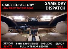 BMW E39 5 SERIES 95-02 FULL LED UPGRADE LIGHTING INTERIOR/EXTERIOR 17 BULB PACK