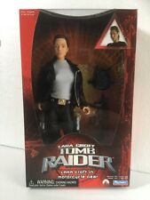 "TOMB RAIDER  LARA CROFT IN MOTORCYCLE GEAR 12"" ACTION FIGURE  RARE"