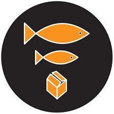 Feutrines TECHNICS Big Fish,Little fish (1 pièce / 1 pièce) mfish1 NOUVEAU + OVP