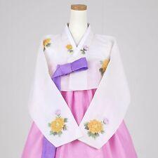 "Hanbok Korean Traditional Costume Dress Set Women 한복 M-size 5' 2"" (158cm) 63053"