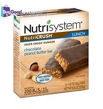 Nutrisystem NutriCrush Chocolate Peanut Butter Lunch Bars, 1.8 Oz, 5 Ct