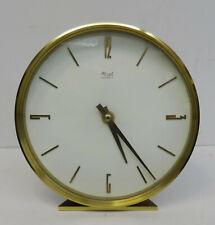 mid century design clock - Edle Tischuhr Kienzle Electric Uhr Messing ~ 70er