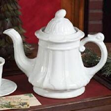 "Tender Heart Treasures 9"" Ceramic 8 Cup Teapot Tea Pot"