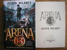 JOSEPH DELANEY - ARENA 13  1st/1st  HB/DJ  2015  SIGNED SPECIAL EDITION