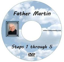 Father Martin Steps 1 through 5 AA ALCOHOLICS ANONYMOUS DVD FREE SHIPPING RARE