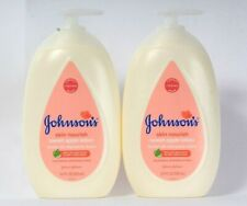 2 Bottles Johnson's 16.9 Oz Skin Nourish Sweet Apple Extract 24h Moisture Lotion