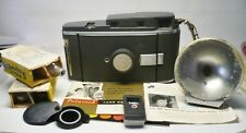 Vintage Retro Polaroid Land Camera Model 150 Leather Case, Accessories