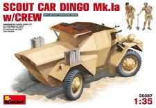 MiniArt Models 1/35 British Scout Car Dingo Mk.Ia w/Crew (Armour Car+2 figures)