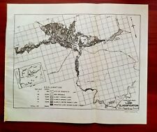 1950 Sketch Map Crooked River Project Oregon Ochoco Reservoir US 28