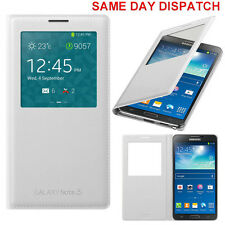 Genuine Samsung S VIEW FLIP CASE Galaxy NOTE 3 SM N9005 mobile cover cell phone