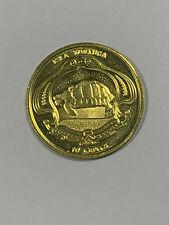 2019 Isla Tortuga (Turtle Island) 10 Cents Fantasy Coin-Sea Turtle & Ship