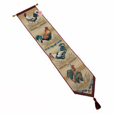 Hen Pecked Roosters Hens Tapestry Wall Hanging Bellpull