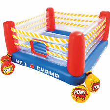 Intex Jump-O-Lene Inflatable Blow-Up Kids Children Boxing Ring Bouncer Playhouse