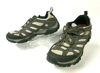 MERRELL Continuum Men's Sneaker Sz 10 Hiking Shoes Vibram Soles Gray   (sh37)