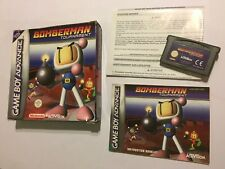 NINTENDO GAMEBOY ADVANCE GBA GAME BOMBERMAN TOURNAMENT +BOX INSTRUCTION COMPLETE