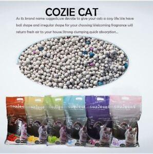 Wholesale/Retail Cozie Cat Clumpng Cat Toilet Sand - Baby Powder