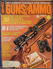 Vintage Magazine GUNS & AMMO October 1981 !!HECKLER & KOCH Model HK 270 RIFLE!!