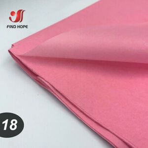 10PCS SHEETS ACID FREE TISSUE PAPER XMAS GIFT FLOWER PACKING WRAPPING WHOLESALE