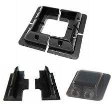 ABS Plastic Solar PV Panel Corner + Mid Mounts and Double Waterproof Cable Gland