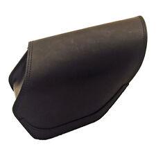 Ledrie Satteltasche rechts schwarz Leder 8 Liter, f. Harley - Davidson Dyna