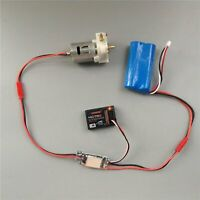 360 370 385 Water Pump Single Way Brushed ESC 20A for DIY RC Jet Boats Switch