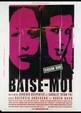 affiche du film BAISE MOI 60x80 cm