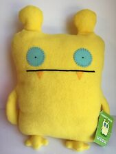 "Uglydolls Yellow Nandy Bear 14"" Plush Stuffed Ugly Doll Uglyverse Tags"