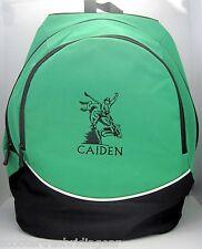 Personalized Bullriding Bullrider Rodeo Backpack school book bag New More Colors