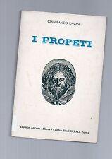 gianfranco ravasi - i profeti - editrice ancora copertina bianca