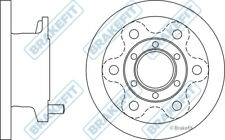 2x Brake Discs (Pair) Solid fits IVECO DAILY Mk3 Front 2.8 2.8D 99 to 06 290mm