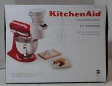 NEW OPEN BOX KitchenAid KSMSFTA Sifter and Scale Attachment $229.99