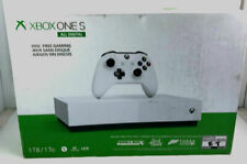 Xbox One S 1TB All-Digital Edition White Console-BRAND NEW w/ Damaged Box